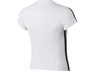 """NIKE Damen Tennisshirt """"Zonal Cooling Top"""" Kurzarm Weiß"""