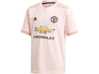"ADIDAS Kinder Trikot ""Manchester United Away"" Saison 2018/19 Grau"