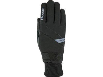 """ROECKL Herren Langlauf Handschuhe """"Turin"""" Schwarz"""