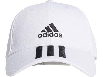 ADIDAS Lifestyle - Caps 3S Baseball Cap Weiß