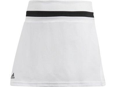 ADIDAS Mädchen Tennisrock Club Weiß