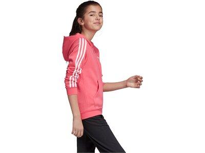 ADIDAS Mädchen Trainingsjacke Weiß