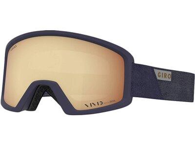 "GIRO Skibrille ""Blok"" Gold"