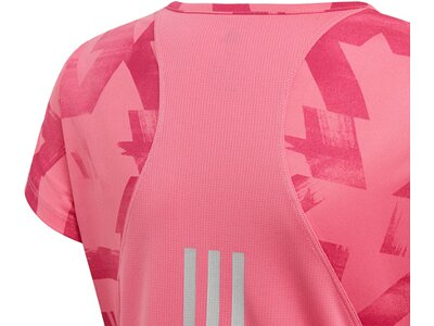 ADIDAS Kinder T-Shirt Run Pink