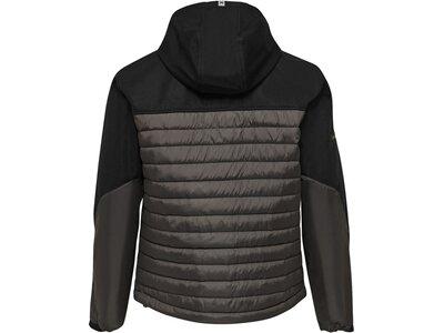 HUMMEL Fußball - Teamsport Textil - Jacken North Hybrid Jacke Schwarz