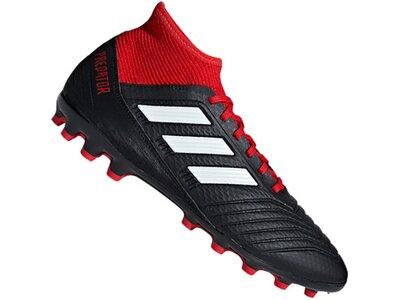 ADIDAS Fußball - Schuhe - Kunstrasen Predator 18.3 AG Rot