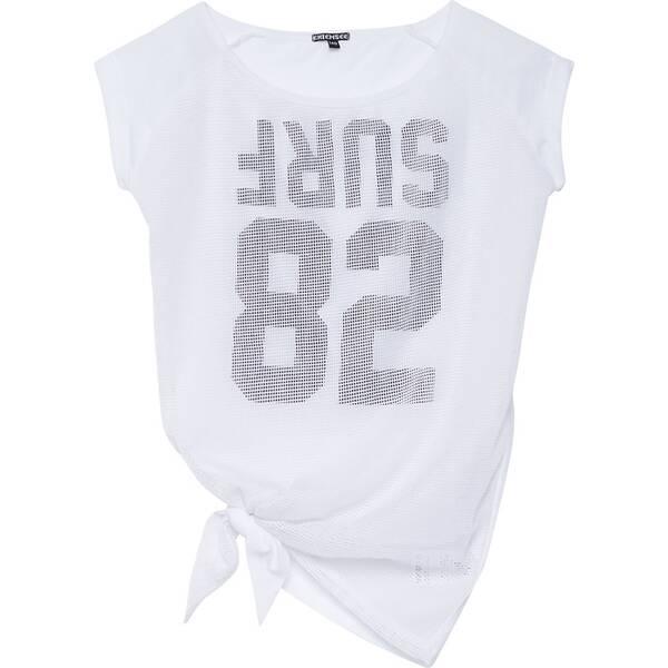CHIEMSEE T-Shirt Oversize mit Mesh