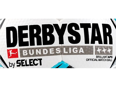 """DERBYSTAR Fußball """"Bundesliga Brilliant APS"""" Schwarz"""