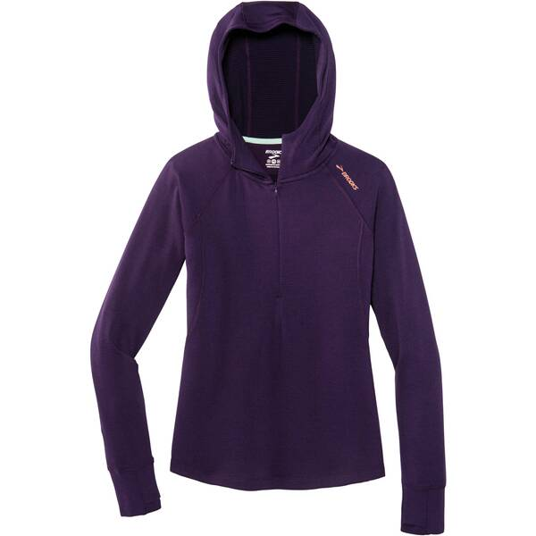 "BROOKS Damen Laufshirt ""Notch Thermal Hoodie"" Langarm"