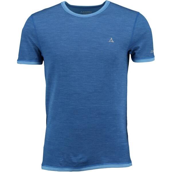 SCHÖFFEL Herren Funktionsunterhemd / Unterhemd Merino Sport Shirt Blau