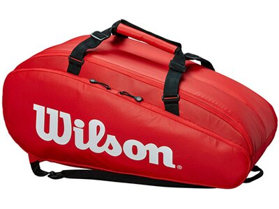 """WILSON Tennistasche """"Tour 2 Compartment Bag Large"""" Rot"""