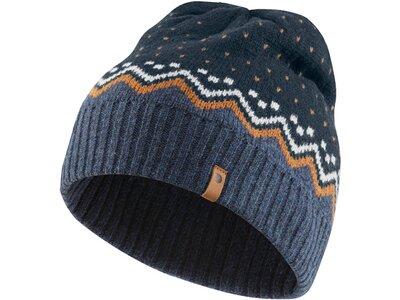 """FJÄLLRÄVEN Herren Mütze """"Övil Knit Hat"""" Blau"""