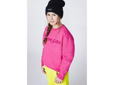 CHIEMSEE Sweatshirt mit CHIEMSEE Print Pink