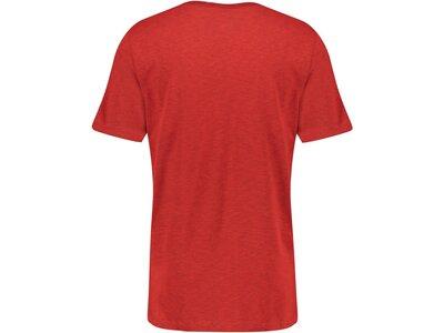 NIKE Herren Trainingsshirt Kurzarm Rot