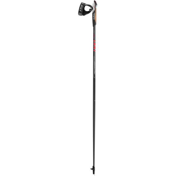 LEKI Walkingstock Walker Platinum schwarz/rot