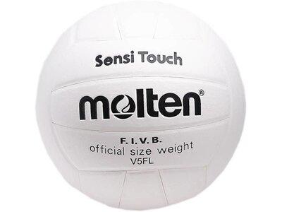 MOLTEN Hallen Volleyball-Sensi Touch Weiß