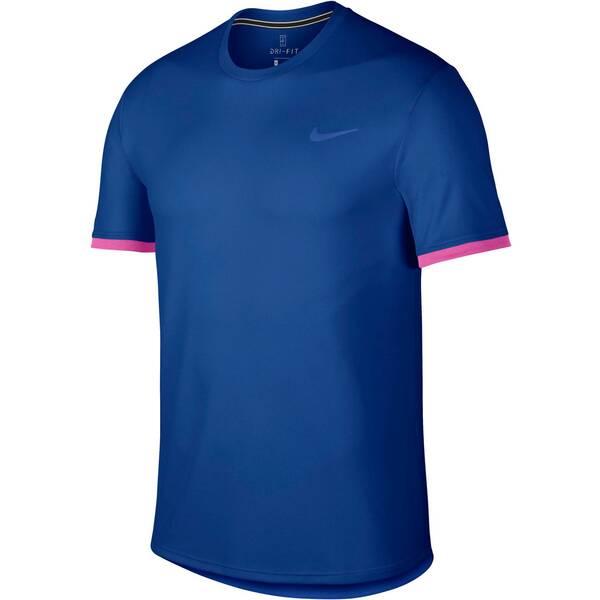 NIKE Herren Tennisshirt Kurzarm | Sportbekleidung > Sportshirts > Tennisshirts | Fuchsia | Nike