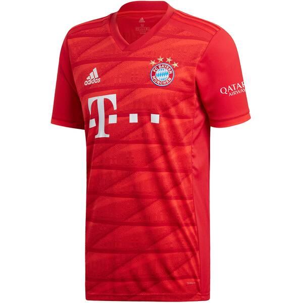 """ADIDAS Herren Fußballtrikot """"FC Bayern München Heimtrikot"""" Kurzarm - Replica"""