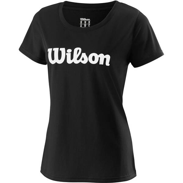 """WILSON Damen Tennisshirt """"UWII Script Tech Tee"""" Kurzarm"""