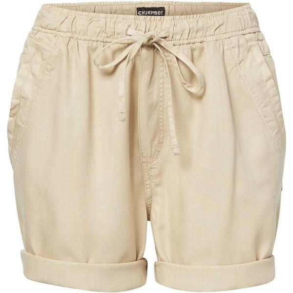CHIEMSEE Chino-Shorts einfarbig aus leichtem Twill