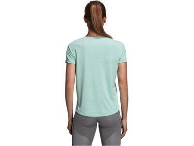 ADIDAS Damen Trainingsshirt Freelift Chill Silber