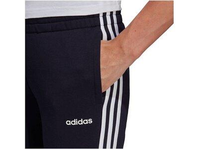 "ADIDAS Damen Fitness-Hose ""Essentials 3 Stripes"" Schwarz"