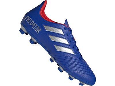 ADIDAS Fußball - Schuhe - Nocken Predator 19.4 FxG Blau