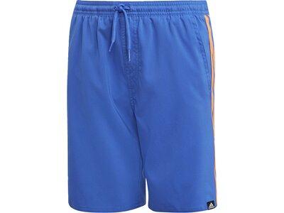 ADIDAS Kinder 3-Streifen Badeshorts Blau