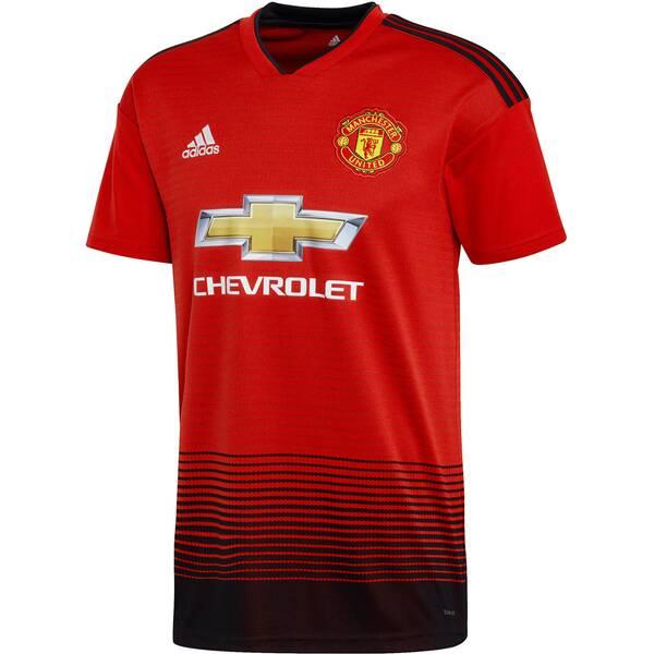 ADIDAS Herren Fußballtrikot Manchester United Home Jersey Kurzarm