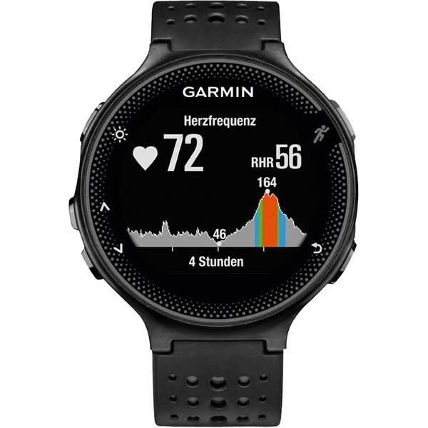 """GARMIN Herzfrequenz-/GPS-Uhr  """"Forerunner 235 WHR"""" schwarz/grau"""
