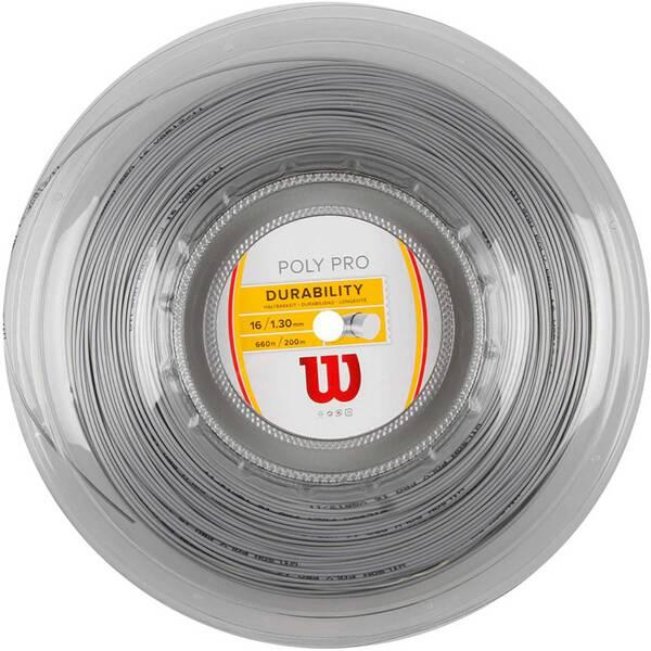 WILSON Tennisschlägersaiten Poly Pro 1.3mm / 200m