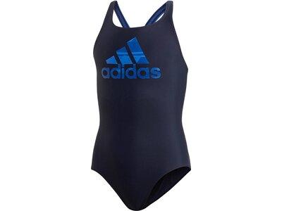 ADIDAS Mädchen Badeanzug Blau