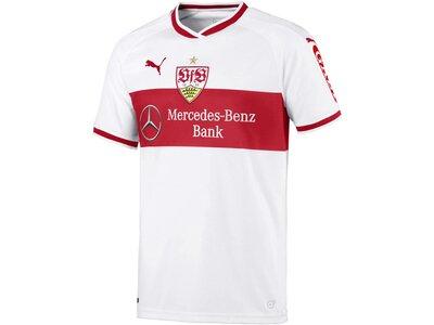 """PUMA Herren Fußballtrikot """"VfB Stuttgart Home Replica"""" Kurzarm Weiß"""