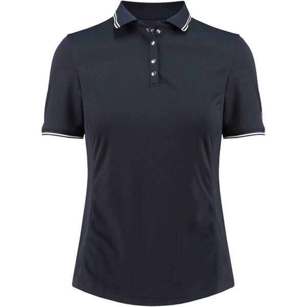 LIMITEDSPORTS Damen Tennisshirt Pauline | Sportbekleidung > Sportshirts > Tennisshirts | Blue | LIMITEDSPORTS