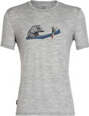 "ICEBREAKER Herren T-Shirt ""Tech Lite Short Sleeve Crewe Canoe Companions"""
