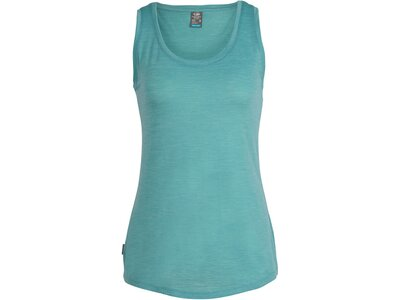 ICEBREAKER Merino Damen T-Shirt Sphere Blau