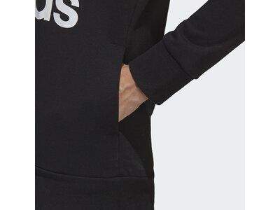 ADIDAS Damen Essentials Linear Pullover Hoodie Schwarz