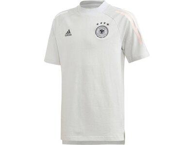 "ADIDAS Kinder Fußballshirt ""DFB Tee Youth"" Kurzarm Grau"