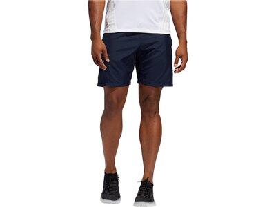 "ADIDAS Herren Fitnessshorts ""3S Perf Woven Short"" Blau"