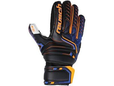 REUSCH Equipment - Torwarthandschuhe SG Finger Support TW-Handschuh Junior Schwarz