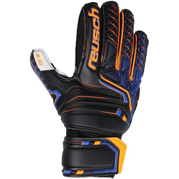 REUSCH Equipment - Torwarthandschuhe SG Finger Support TW-Handschuh Junior