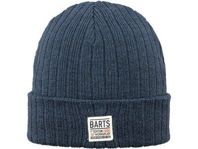 BARTS Herren Mütze Parker Blau