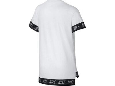 NIKE Mädchen T-Shirt Kurzarm Grau