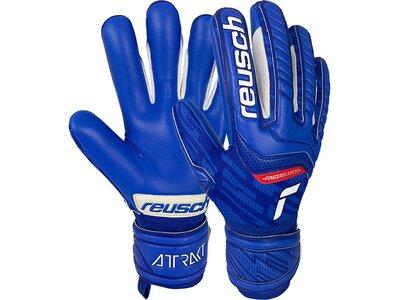 REUSCH Equipment - Torwarthandschuhe Attrakt Finger Support TW-Handschuh Blau
