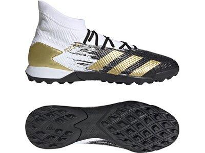 ADIDAS Fußball - Schuhe - Turf Predator Uniforia 20.3 TF Schwarz