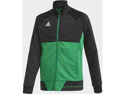 ADIDAS Fußball - Teamsport Textil - Jacken Tiro 17 Trainingsjacke Kids Grau