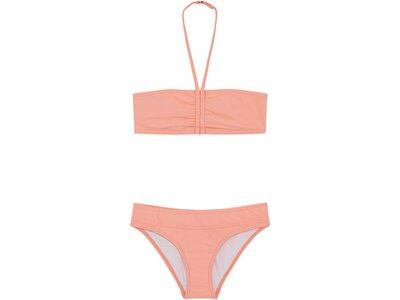 CHIEMSEE Bandeau Bikini-Set Kids mit verstellbarem Nackenband Orange