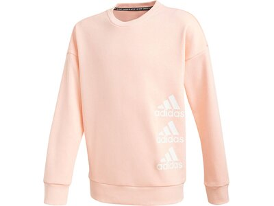 ADIDAS Mädchen Sweatshirt Weiß
