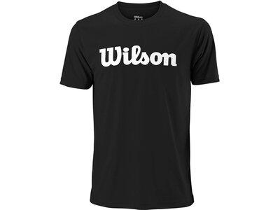 """WILSON Herren Tennisshirt """"Team Scripttech Tee"""" Kurzarm Schwarz"""