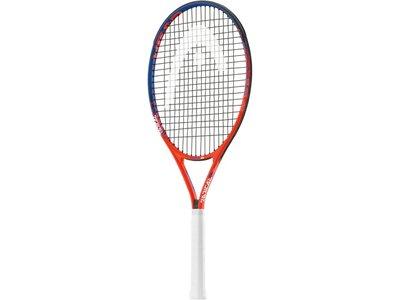 """HEAD Kinder Tennisschläger """"Radical 26"""" - besaitet - 16x18 Orange"""